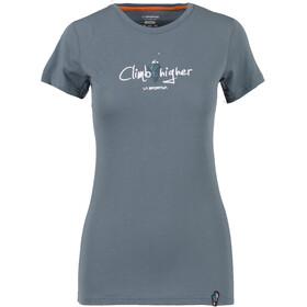 La Sportiva Asteroid Camiseta Mujer, slate